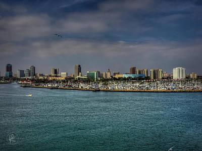 Building Photograph - California - Long Beach 002 by Lance Vaughn