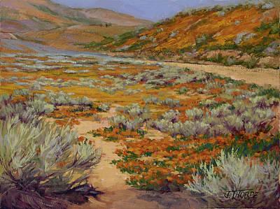 California Poppies Original by Jane Thorpe