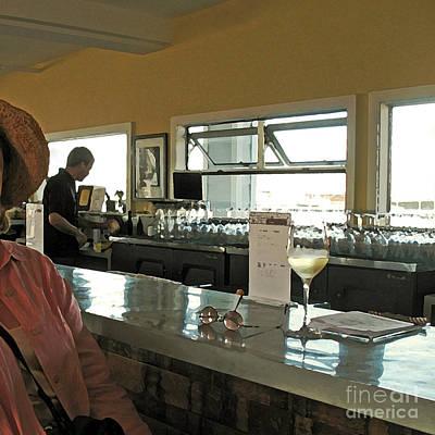Women Tasting Wine Photograph - California Wine Tasting by Connie Fox