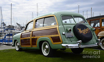 California Woodie 3 Print by Bob Christopher