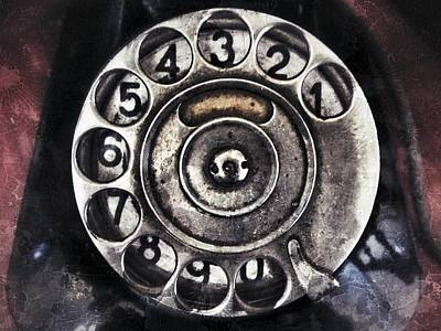 Antique Telephone Photograph - Call Me... by Marianna Mills