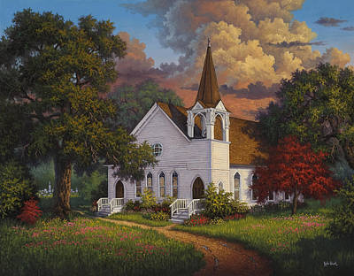 Kyle Wood Painting - Called To Praise by Kyle Wood