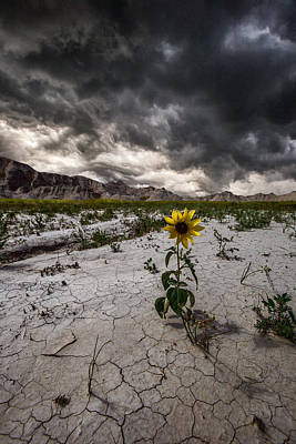 Badlands Photograph - Calm Before The Storm by Aaron J Groen