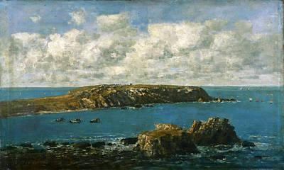 Eugene Boudin Painting - Camaret Le Toulinguet by Eugene Boudin
