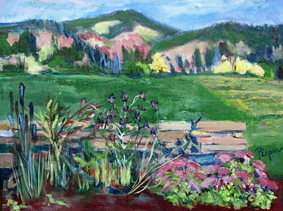 Cambridge Painting - Cambridge Countryside by Betty Pieper