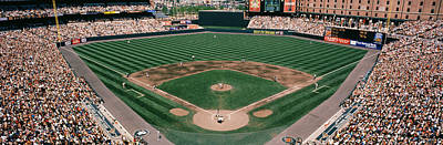 Camden Yards Baseball Field Baltimore Md Print by Panoramic Images