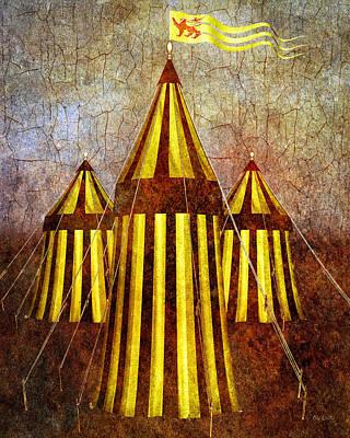 Fantasy Digital Art - Camelot Restrained by Bob Orsillo