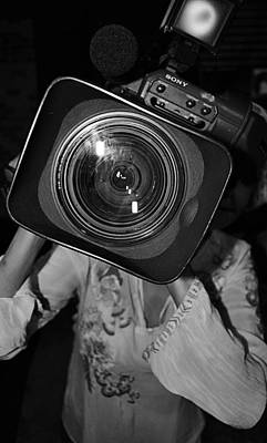 Camera Girl Print by Tommi Trudeau