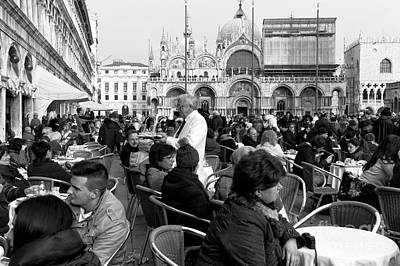 Venice Photograph - Cameriere by John Rizzuto