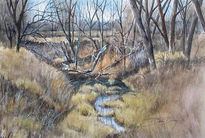 Cameron Creek Print by Denny Dowdy