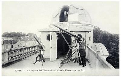 Camille Flammarion Print by Detlev Van Ravenswaay
