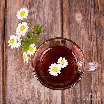 Camomile Tea Print by Jane Rix