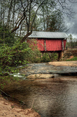 Campbells Covered Bridge Photograph - Campbell's Covered Bridge by Brad Carper