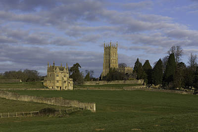 Midland Cemetery Photograph - Campden House And St James Church by Wendy Chapman