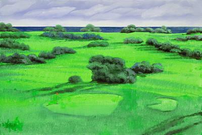 Golf Painting - Campo Da Golf by Guido Borelli