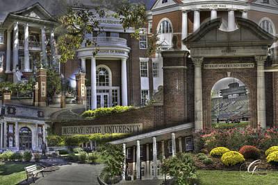 Murray Kentucky Photograph - Campus Life Murray State University by Gina Munger