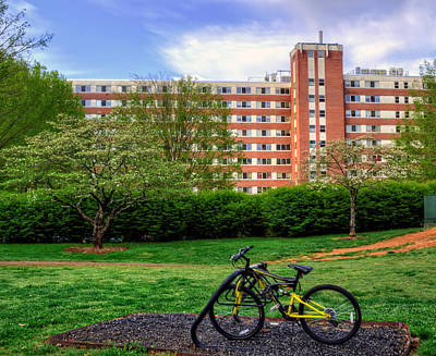 Campus Transportation Print by Greg Mimbs