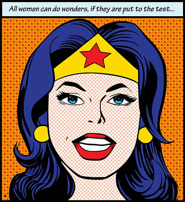 Can Do Wonders Print by Gary Grayson