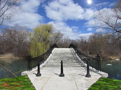 Canal Of Elizabeth Park Original by Michael Rucker