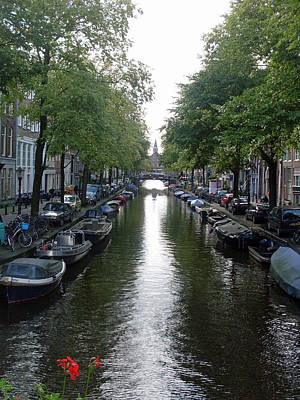 Amsterdam Photograph - Canal Of Mystery by Mike Podhorzer