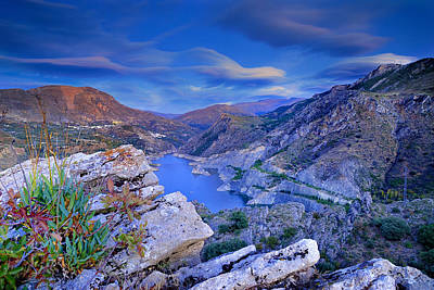 Canales Lake Print by Guido Montanes Castillo