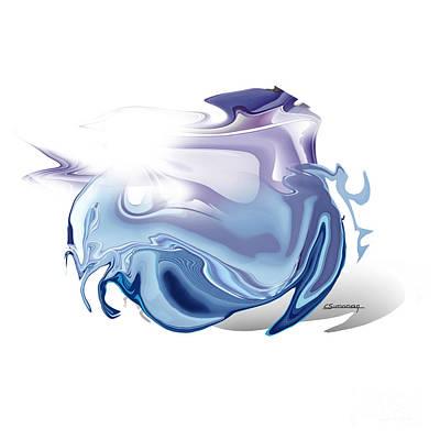Zodiac Digital Art - Cancer by Christian Simonian