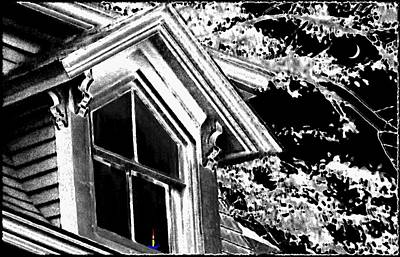 Candle In The Window Print by Will Borden