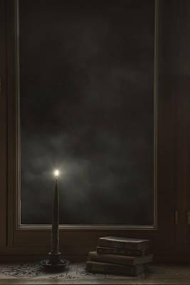 Window Sill Photograph - Candle Light by Joana Kruse
