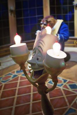 Candle Light Print by Ryan Crane