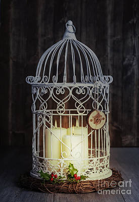 Cage Photograph - Candles At Night by Amanda And Christopher Elwell