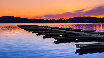 Candlewood Lake Print by Bill Wakeley