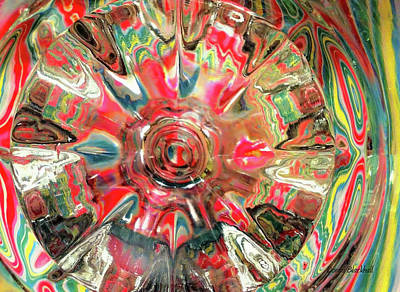 Abstract Movement Photograph - Candy by Donna Blackhall