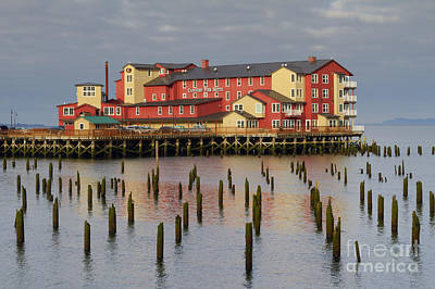 Upscale Photograph - Cannery Pier Hotel by Mark Kiver