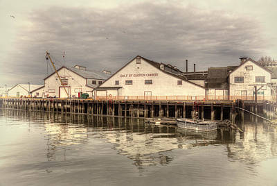 Cannery Print by Randy Hall
