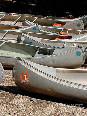 Canoes 143 Print by Gary Gingrich Galleries