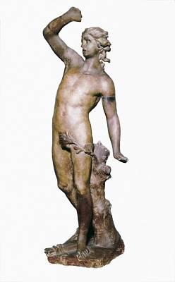 Canova, Antonio 1757-1822. Apollo. End Print by Everett