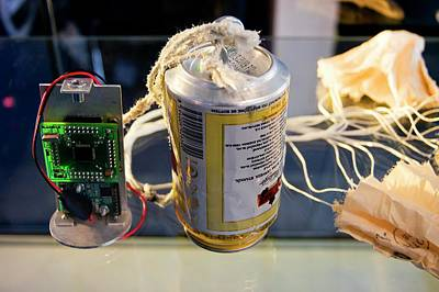 Soda Can Photograph - Cansat by Mark Williamson