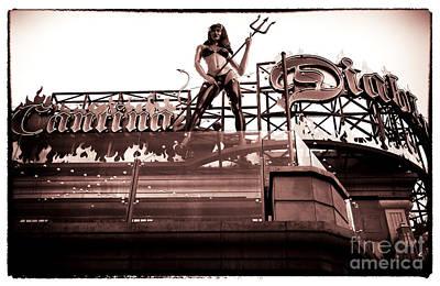 She-devil Photograph - Cantina Diablo by John Rizzuto