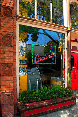 Napa Valley Digital Art - Cantina by James Eddy