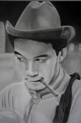 Mexicano Drawing - Cantinflas by Enrique Garcia