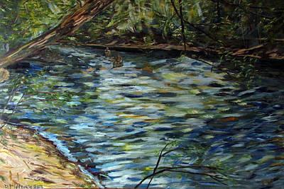 Canton Canoe Race Original by Denny Morreale
