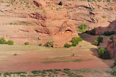 Americans Photograph - Canyon De Chelly From White House Ruins Trail by Christine Till
