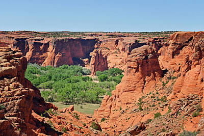 Canyon De Chelly - Tunnel Overlook Print by Christine Till