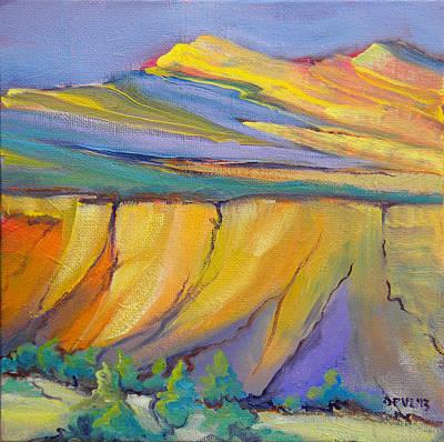 Canyon Dreams 33 Print by Pam Van Londen