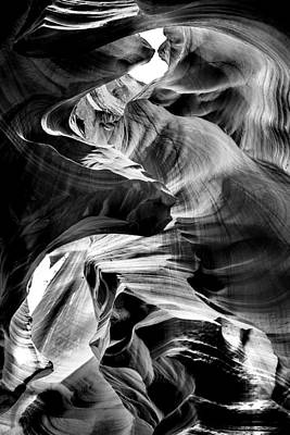 Travel Photograph - Canyon Flow by Az Jackson