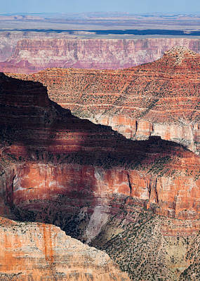 Semi Abstract Photograph - Canyon Layers by Dave Bowman