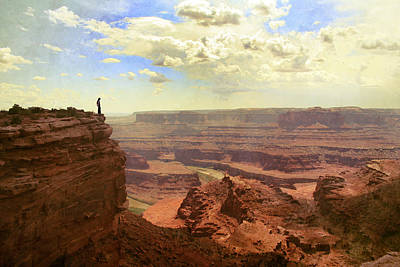 Canyon Print by Cambion Art