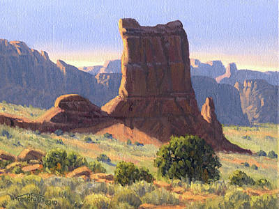 National Parks Painting - Canyonlands by Randy Follis