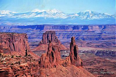 Canyonlands Print by Wayne Bonney