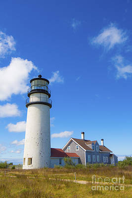 Cape Cod Lighthouse Print by Diane Diederich